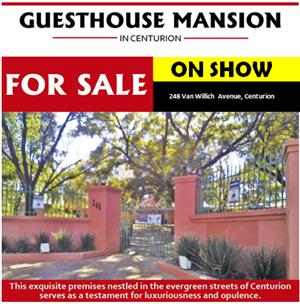 GUESTHOUSE MANSION IN CENTURION