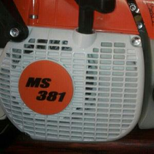 ms381 chainsaw brand new