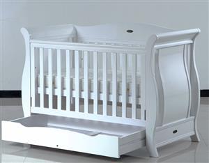 Baby Direct Emporium Sleigh Cot W