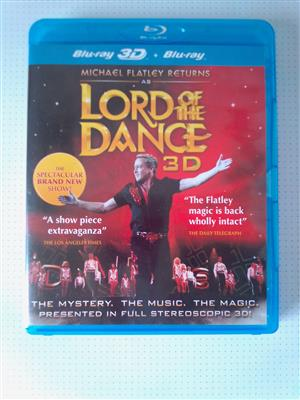 3D Blu-ray  Lord of the Dance  Concert. I am in Orange Grove.