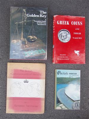 Coin Collecting Books - Four books