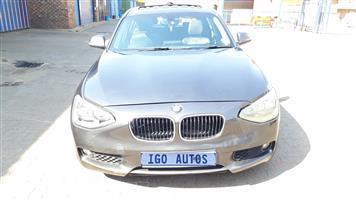 2013 BMW 1 Series 120d 5 door Sport Line auto