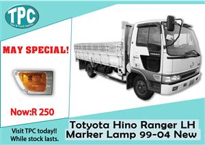 Toyota Hino Ranger LH Marker Lamp 99-04 New for Sale at TPC