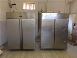 Commercial Fridge and Freezer for sale, sold as a pair