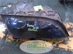 Bmw E46 Right Xenon Headlight
