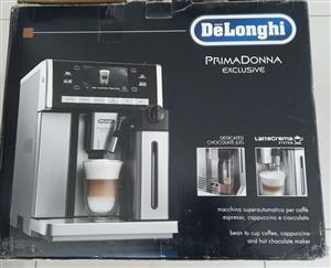 Delonghi primadonna exclusive - automatic coffee machine