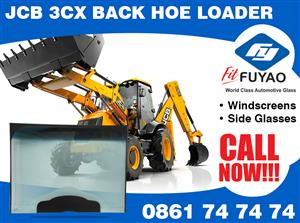 Brand new windscreen for JCB 3CX Backhoe Loader  #JCB3CX