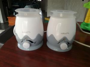 2 X BOTTLE AND FOOD WARMERS FOR BABIES R300 FOR BOTH