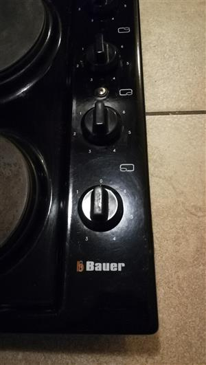 4 Plate Bauer Hob/Stove