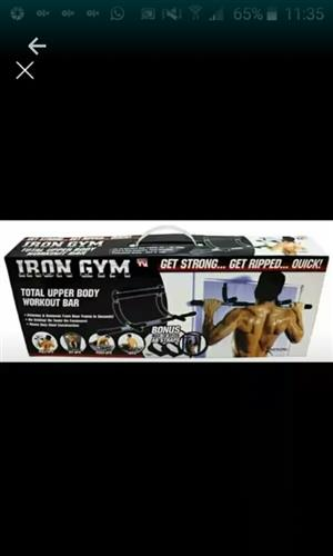 Total upper body work out bar
