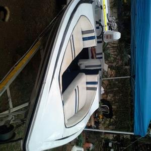 17 ski boat DT140 Suzuki with T&T