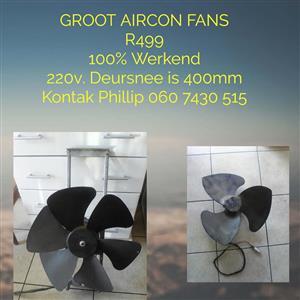 Groot aircon fans te koop