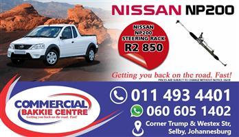 nissan np200 steering rack
