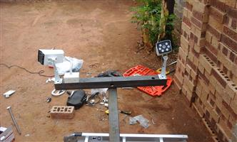 Security cameras , intercom and gate motor installation & repairs 0742680035
