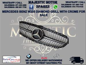 Mercedes W205 bumper grill for sale