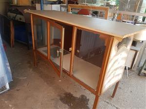 Steel frame enclosure