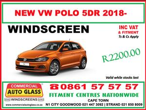 NEW POLO windscreen special - Commercial Auto Glass N1 City