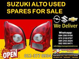Suzuki Alto used replacement spares for sale