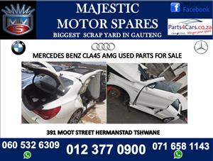 Mercedes benz CLA 45 amg stripping for spares