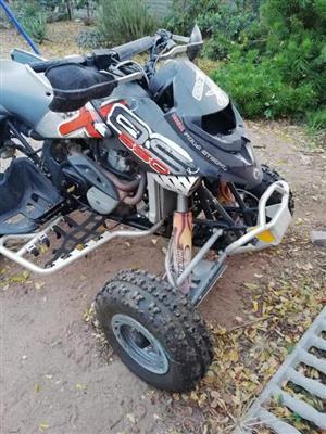 650cc bombadier fourwheeler