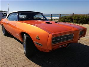 1969 PONTIAC CONVERTIBLE GTO JUDGE - FOR SALE:  ONLY SERIOUS BUYERS!