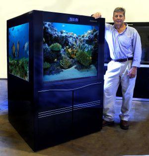 1 meter Cube Aquaria AMZ1000c Aquarium