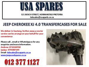 JEEP CHEROKEE XJ 4.0 TRANSFER CASE FOR SALE.