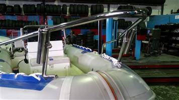 boat repairs/boat rod holders