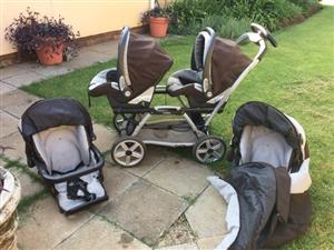 Peg Perego twin travel system