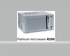 Microwave,Dishwasher & Washing machine
