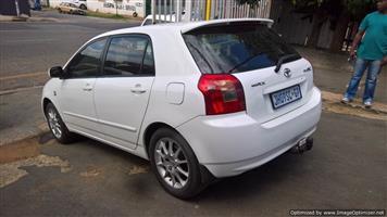 2007 Toyota RunX 160 RX