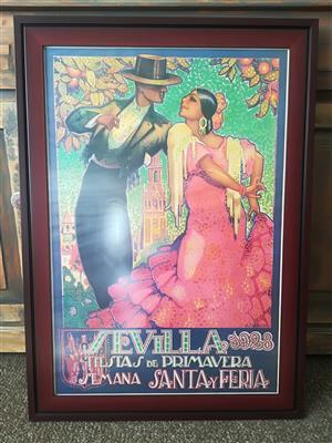 Sevilla Flamenco prints