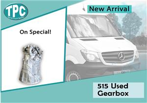 Mercedes Benz Sprinter 515 Used Gearbox For Sale at TPC