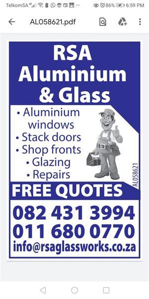 RSA GLASS & ALUMINIUM
