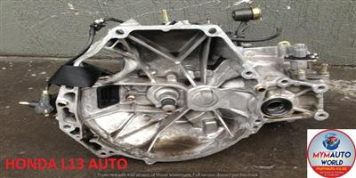 IMPORTED USED HONDA L13 AUTOMATIC GEARBOX