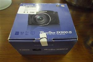 Canon Powershot SX500 IS Camera