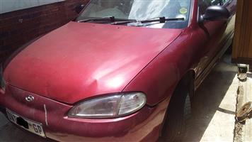 2001 Hyundai Elantra 1.6 GLS