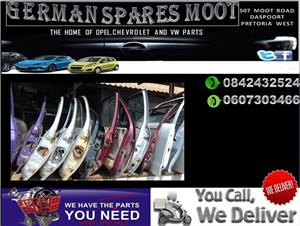 OPEL,CHEVROLET AND VW DOORS FOR SALE.