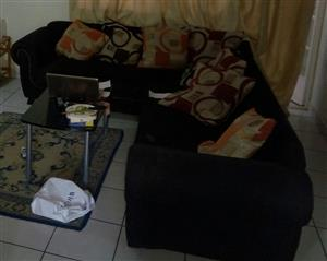Cough set with table and carpet for sale