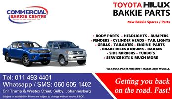 new toyota hilux spare parts