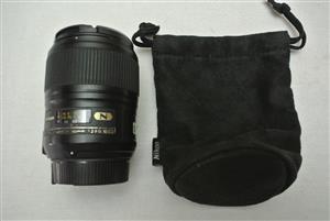 Nikon AF-S 60mm f/2.8 G ED Macro Prime Lens