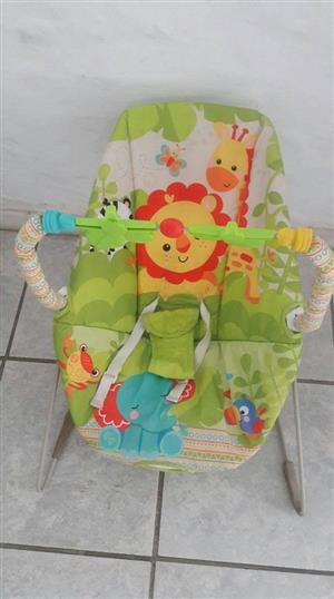 Lion rocking chair with mobile