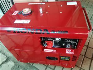 HONDA Silent Generator EB 10 000W Diesel - R 57000,00