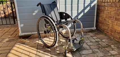 TiLite ZRA Series 2 Titanium Rigid Frame Wheelchair