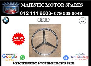 Mercedes benz boot emblem for sale