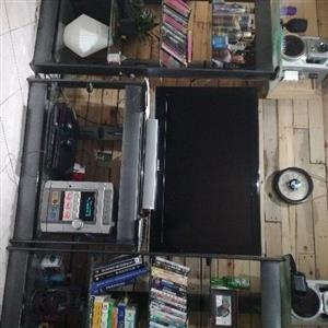3 Piece Big Glass / Steel wall unit for sale