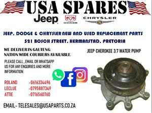 JEEP CHEROKEE 3.7 WATER PUMP (FOR SALE)