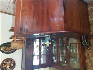 Rhodesian Teak bar for sale