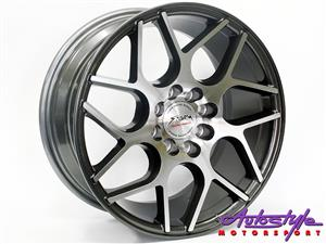 15 inch ST Vice 4-100 and 4-108 GMMF Alloy Wheels