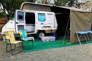 Looking for a Sherpa Tiny caravan